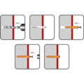 Kolek rozporowy wbijany 5x45, glowa plaska - 2/2