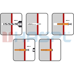 Kolek rozporowy 10x120  gl.stozkowa - 2