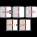 Kolek rozporowy wbijany 8x60, glowa stozkowa - 2/2