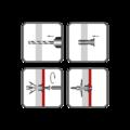 Kołek rozporowy HRD 10x19mm - 2/2