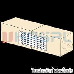 Lacznik plaski perforowany 140x400x2,0 - 2