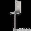 Lacznik belki do betonu Typ L 80x80x4,0 - 2/3