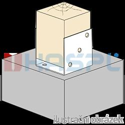 Element kotwiacy 100x100x4,0 - 2
