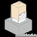 Element kotwiacy przetlaczany Typ U 100x100x4,0 - 2/3