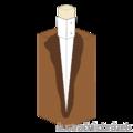 Kotwa ogrodowa wbijana kwadratowa - 90x90x750 - 2/3