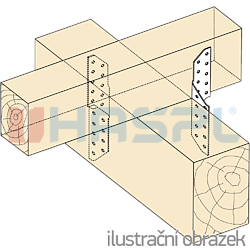 Łacznik krokwi 290x2 - 2