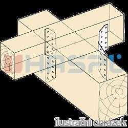 Lacznik krokwiowy 170° - 2