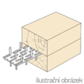 Plytka zebata obustranna 35x84x1,5 - 2/3