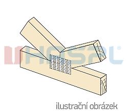 Plytka zebata 24x210x1,0 - 2