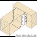 Wspornik belki typ 1 100x184x2,0 - 2/3