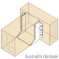 Wspornik belki typ 1 80x140x2,0 - 2/3