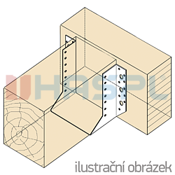 Wspornik belki typ 1 120x140x2,0 - 2