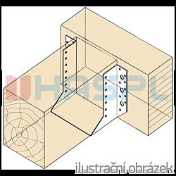 Wspornik belki typ 1 40x124x2,0 - 2