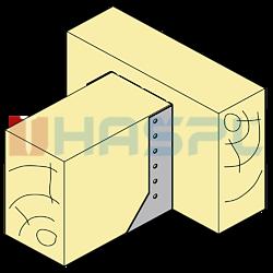 Wspornik belki typ 2 80x100x2 - 2