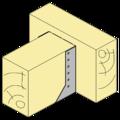 Wspornik belki typ 2 80x100x2 - 2/3