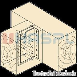 Wspornik belki ukryty typ2 160x80x2,0 - 2