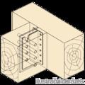 Wspornik belki ukryty typ2 160x80x2,0 - 2/3