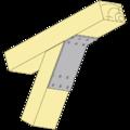 Katownik 135° Typ 2 120x90x30x2,5 - 2/3