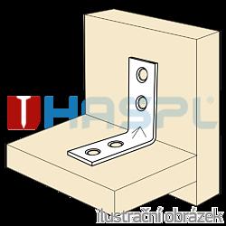 Katownik  90° Typ 4 przetlaczany wzmocniony meblowy 16x35x35x1,5 - 2