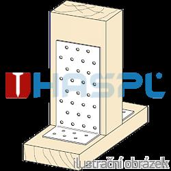 Katownik 90° Typ 1 80x60x60x2,0 - 2