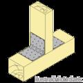 Katownik 90° Typ 4 przetlaczany wzmocniony 80x70x70x1,5 - 2/3
