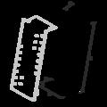 Złącze płatwiowe GERBER II 220x30x75x2 - 3/3