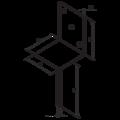Lacznik belki do betonu Typ L 100x80x4,0 - 3/3