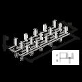 Plytka zebata obustranna 35x84x1,5 - 3/3