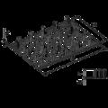 Plytka zebata 126x252x1,5 - 3/3