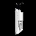 klamry do montazu boazerii i paneli KB6 - 3/3